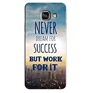 SUCCESS BACK COVER FOR SAMSUNG A9