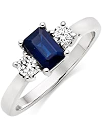 Asset Jewels Silver Real Diamond Ring For Girls/ Women - B078LXJJSW