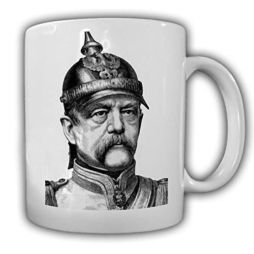 Otto von Bismarck Fürst Kanzler Deutschland Preußen Staatsmann Tasse #27593