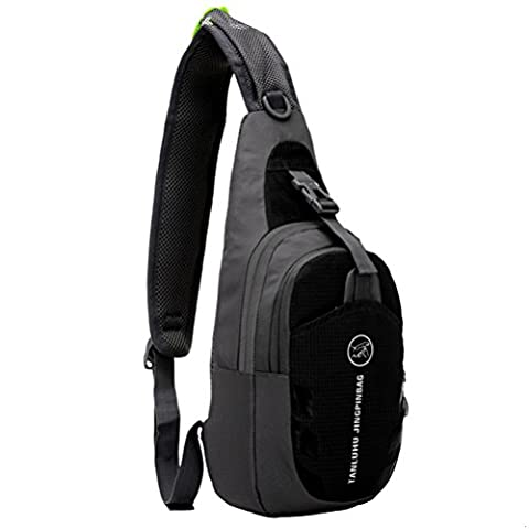 GADIEMENSS Waterproof Lightweigh Breathable Chest Bag Sling Shoulder Backpack (Dello Zaino Drawstring Sling Bag)
