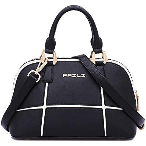 Signora moda lanciato splicing/Confezioni di Shell/Borsa a tracolla spalla portatile di minimalismo selvatici
