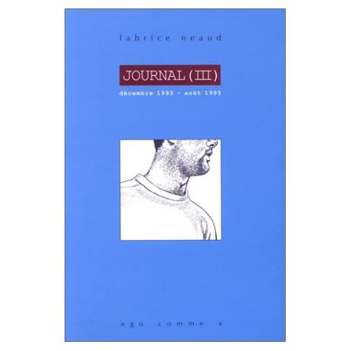 Journal, tome 3, décembre 1993et août 1995