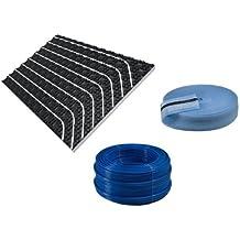 Buderus calefacción por suelo radiante de las superficies de calefacción sistema de placa de leva, superficie§Buderus suelo radiante paquete: 96 M²