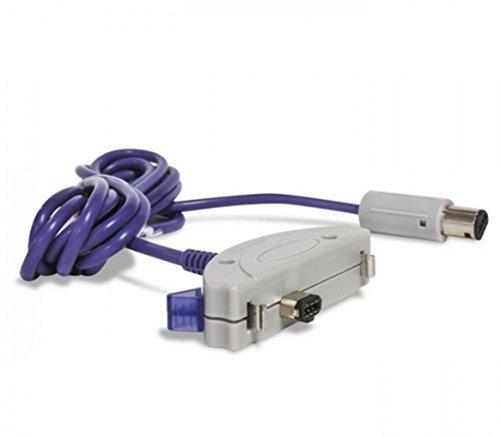 Link-e ® : Link Cable para consola Nintendo Gamecube con Game Boy Advance (GBA, GBA SP, Pokemon...)