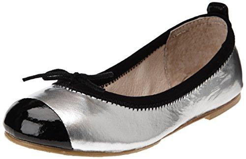 Bloch Luxury, Mädchen Ballerinas Silber - Argent (Argento/Black)