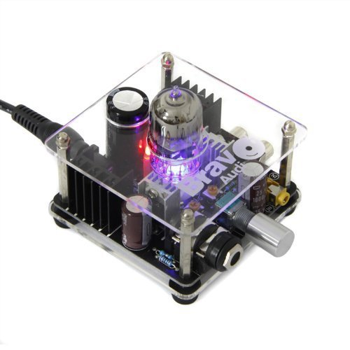 BRAVO Audio V1 Kopfhörer-Röhrenverstärker, Röhre Klasse A, Vorverstärker Video Distribution Amplifier