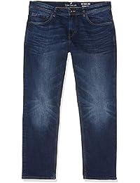 Tom Tailor Casual Herren Slim Jeans blaue gewaschene Jeans