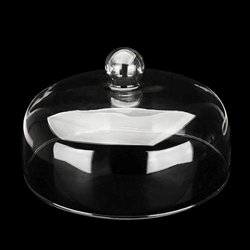 ExcLent Glass Cake Dessert Cover Dome Kitchen Storage Container Dessert-container