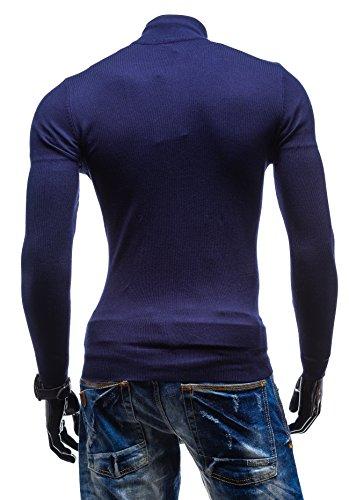 BOLF - Pull - Tricot – NEW MEN 9003 - Homme Bleu foncé