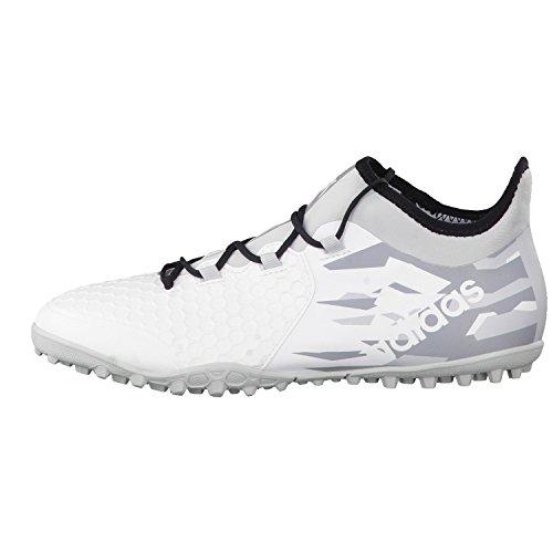 adidas X Tango 16.2 Tf, pour les Chaussures de Formation de Football Homme Blanc