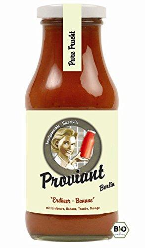 Proviant Berlin Bio Smoothie Erdbeere-Banane (6 x 240 ml)