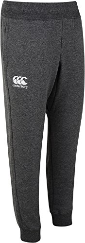 Canterbury Jungen Mit Mit Eng Zulaufendem Bein Fleece Hose, Charcoal Marl, 6 Jahre (Fleece-6-pocket Pant)