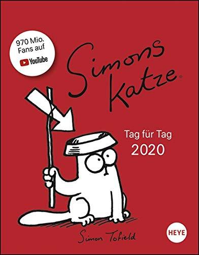 Simons Katze Tagesabreißkalender 2020 11x14cm