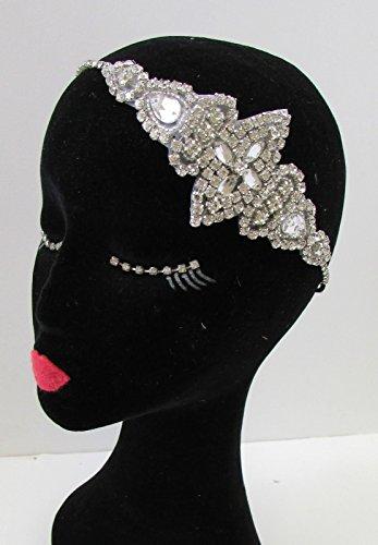 Argent Diamante bandeau Gatsby style vintage années 1920 Flapper mariage bandeau A73 * * * * * * * * exclusivement vendu par – Beauté * * * * * * * *