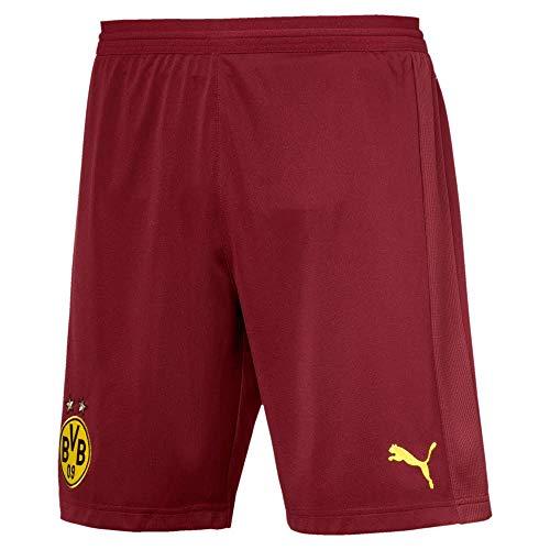 Puma BVB Replica con Inner Slip Pantalones, otoño/Invierno, Hombre, Color Pomegranate, tamaño Medium