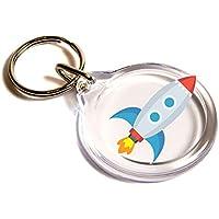 Rocket Emoji anello chiave / Rocket Emoji Key Ring