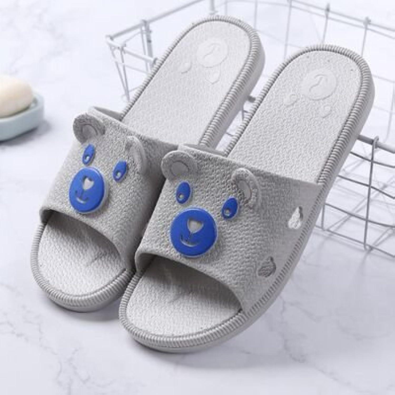weisssIXX Pantoffeln weissslichen Sommer Indoor Badeschuhe Süßes Paar Haushalt Four Seasons Hausschuhe Cool Schlepptau