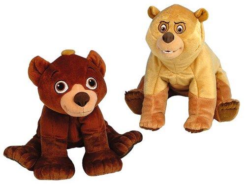 Hasbro - Brother Br 349021861 - Plschfiguren Kenai und Koda, 24cm