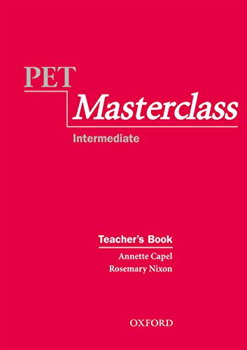 PET Masterclass:: Preliminary English Test Masterclass: Teacher's Book (Preliminary English Test (Pet) Masterclass)