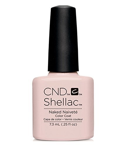 CND Shellac UV Gel Polish - Contradictions - Spring 2015 Collection - 0.25oz_NAKED NAIVETE - C90857 **BCS_BW** by CND Cosmetics