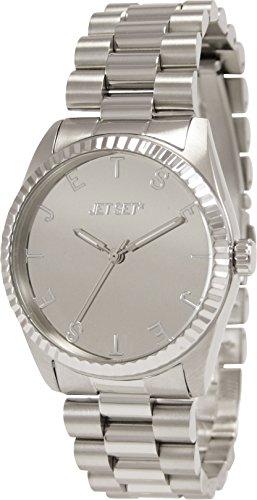 Jet Set - J62504-652 - Sight - Montre Femme - Quartz Analogique - Cadran Argent - Bracelet Acier Argent