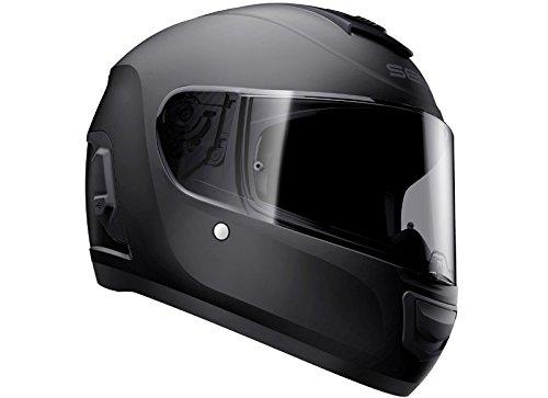 Momentum Lite, Bluetooth Helmet, Full Face, Matt Black, M size, ECE - 2