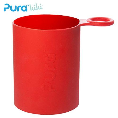 Pura Kiki - Sport Silikonüberzug (Sleeve) - 500ml/800ml Pura Farbe Rot