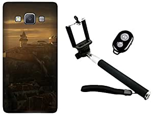 APE Back Cover and Selfie Stick for Samsung Galaxy Z1
