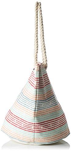 Roxy Damen Sun Seeker Schultertaschen, 32x14.5x40 cm Multicolore (Marshmallow Lola)