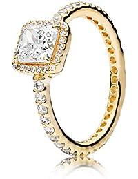 Ring 56 - Gold 585 14K Zirkonia - Zeitlose Eleganz
