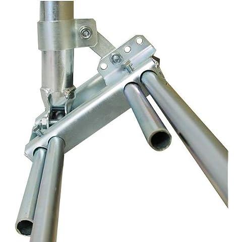 A.S. SAT 51500Vigas plana Variante I (110cm mástil, diámetro 48mm) Acero galvanizado