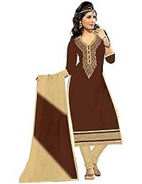 Mahi Fashion Women's Cotton Dress Material (MF20_Free Size_Multi-Coloured)