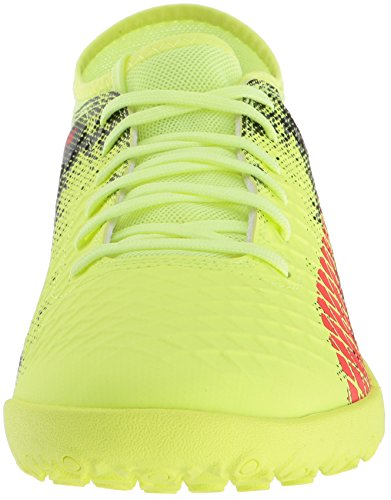 Puma Chaussures Future 18.4 TT Pour Homme Fizzy Yellow/Red Blast/Puma Black