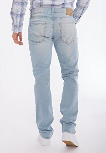 MEXX Slim Fit Jeans im Used-Look Amsterdam Herren Slim Fit Casualmode BMX3023375 Denim
