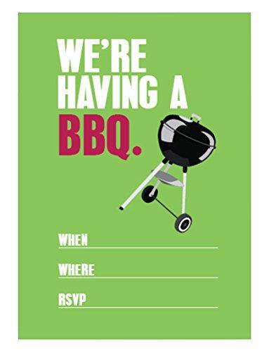 Apartment 2 Cards invite105BBQ Party Einladungen Füllen Party Einladung