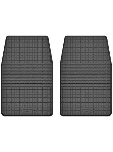 KO-RUBBERMAT 2 Stück Gummifußmatten Vorne geeignet zur Nissan NAVARA I (Bj. 1986-1997) ideal angepasst - 1986 Teile Nissan