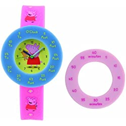 Peppa Pig Time Teaching Watch
