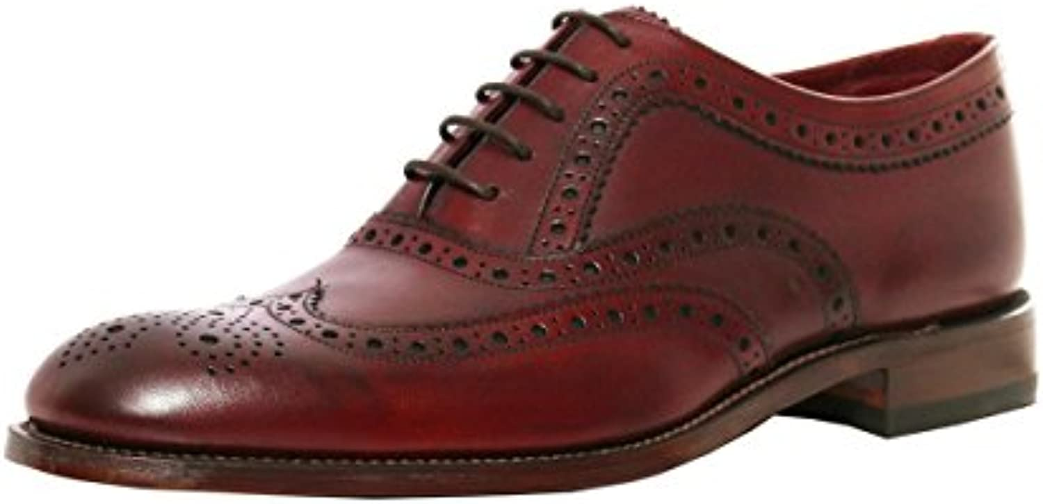 Loake Fearnley Mens Mens Mens Formale Stringate 7.5 UK 42 EU Burgundy Calf | a prezzi accessibili
