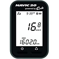 Ciclosport Ciclo Navic 20 Gps-Fahrradcomputer, Schwarz/Weiß, One Size