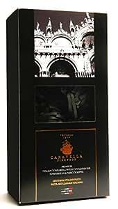Caravella Premium Tagliatelle à l'Encre de Seiche Pâtes Italiennes Artisanale 500 gr Gourmet Pasta & Food