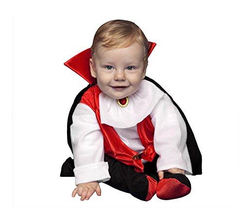 Imagen de disfraz de drácula bebés de 6 a 12 meses halloween