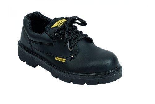 Saftey Jogger Schnürer 42001 - Calzado de protección de cuero unisex, color negro, talla 45