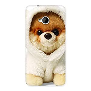 Delighted Boo Dog Multicolor Back Case Cover for HTC One M7