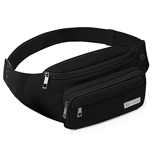 MYCARBON Fanny Pack For Women And Men,Large Capacity Waist Pack Non-bounce Running Belt For Travelling,Non-slip...