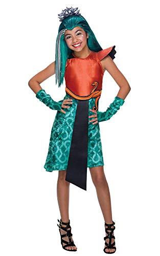 Brandsseller Monster High Nefera de Nile Kinderkostüm Mädchenkostüm Karneval Fasching - Größe: M
