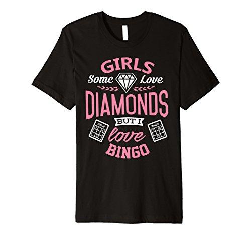 Bingo Shirt aber ich liebe Bingo Funny Girl Geschenk T-Shirt