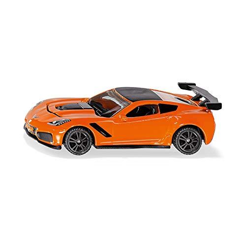 Siku 1534 Chevrolet Corvette ZR1 Spielzeugauto, orange thumbnail