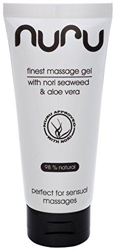 30% RABATT - Nuru Gel von Nuru® | Original Nuru Massage-Gel - perfekt für erotische Ganzkörper-Massagen - auch geeignet für die Penis- und Prostata-Massage - für eine bessere Massage und ein schönes Happy End - made in Germany - hohe Qualität - 100 ml