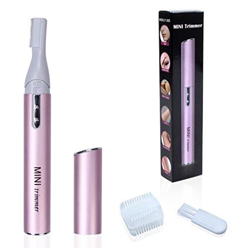 1 PC Mmini rotativo Mujeres Electric Lady de pelo portátil Ceja Trimmer máquina de afeitar Razor Remover