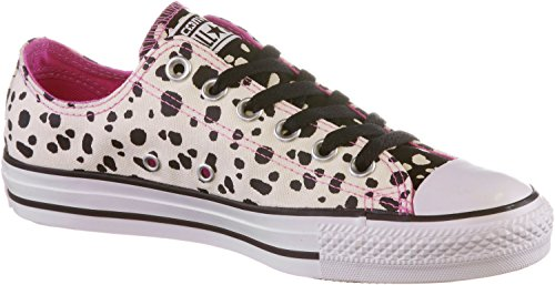 Converse All Star Ox Donna Sneaker Multicolore PARCHMENT/BLACK/DAHLIA PINK